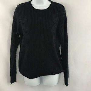 Kim Rogers Navy Blue Long Sleeve Sweater